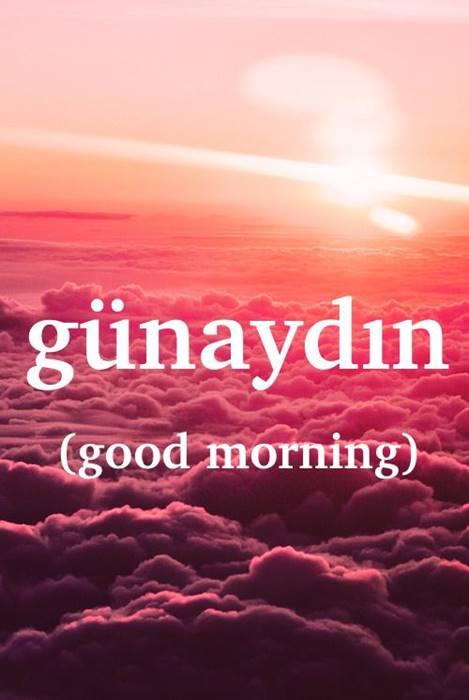 صباح الخير ومساء الخير بالتركي كلمة وترجمة وصوت السلام بالتركي تركي فلوج